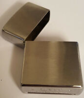 Original ZIPPO Feuerzeug Chrome brushed ohne Insert
