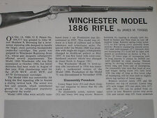 WINCHESTER  MODEL 1886 RIFLE EXPLODED VIEW
