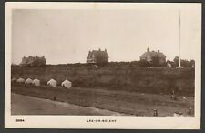 Postcard Lee on the Solent nr Fareham Hampshire houses near beach 1915 RP WHS