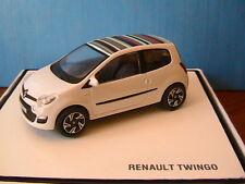 RENAULT TWINGO 2 PHASE II WHITE NOREV 7711431530 1/43 BLANCHE BLANC BIANCA