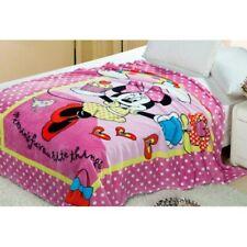 Minnie Mouse Pink Fleece Blanket