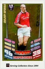 2012-13 Match Attax Legend Foil Card #475 Jaap Stam (Man Utd)