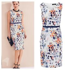 Kaleidoscope Size 10 Smudge Floral Print Shift DRESS Occasion Summer Holiday £95
