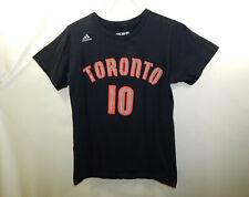 DeMar DeRozan Toronto Raptors #10 NBA Basketball T Shirt ADIDAS Size SMALL S