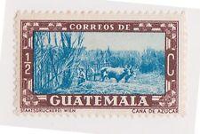 (GMA-75) 1937 Guatemala ½c blue & brown farming