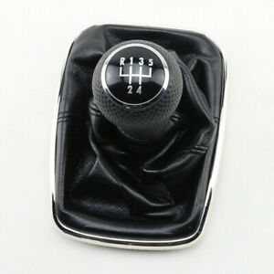 Car 5 Speed Gear Shift Knob Gaitor Boot for VW Golf Bora Jetta GTi MK4 99-2004