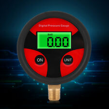 Portable Digital Air Tire Pressure Gauge Accurate Car Truck Motorcycle 0-200PSI