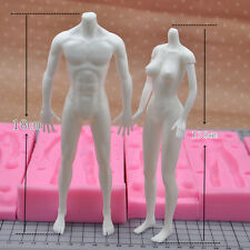 exclusive mold turning model body chest doll body mold food grade silicone mold