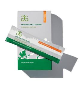 Arbonne Vegan Phytosport Prepare & Endure Orange pineapple 20x stick BB 05/2021
