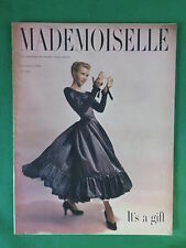 Vintage MADEMOISELLE Magazine For Smart Young Women Nov. 1948 FLANNERY O'CONNOR