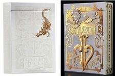 David Blaine Gold Split Spades / Gatorback Playing Cards (2 Deck Set) RARE