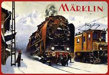 Tin Sign: Marklin Winter Old
