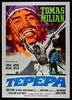 Manifesto Tepepa Tomas Milian Orson Welles Steiner Casamonica Morricone M259