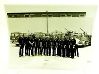 Los Angeles FIre Department Commanders and Chiefs circa 1986 nice Group 8x10
