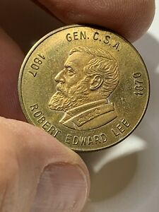Robert E Lee Medal CSA** Confederate States of America