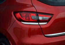 FITS Renault Clio 4 IV Under Rear Light Trim  4 Pcs. Abs Chrome 2012-UP