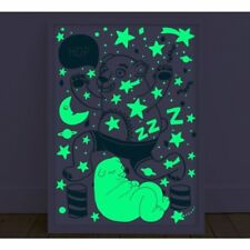 Glow In The Dark Poster - Grizzly Bear