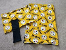 Midwest Ferret Nation Single Story Complete Cage Cover Set - Nfl Steelers
