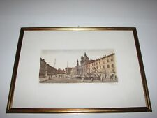 Vincenzo Volpi Piazza Navona Limited Edition Signed Etching, Print