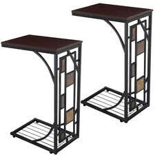 2 Coffee Tray Side Sofa Table Ottoman Couch Room Console Stand End TV Lap Snack