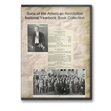 Sons of the American Revolution National Yearbook Book Collection SAR -  CD B519