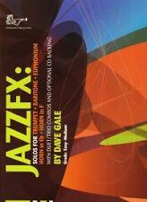 GALE JAZZFX Trumpet/Baritone/Euphonium Book & CD