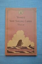 Yankee Ship Sailing Cards, Volume III, by Allan Forbes and Ralph M. Eastman