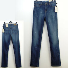 Marks and Spencer Indigo Pole Straight High Rise Jeans- Size 12 Medium