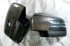 Mercedes Benz W166 ML-Class 12~ON 3K CARBON FIBER Arrow LED Side Mirror Cover