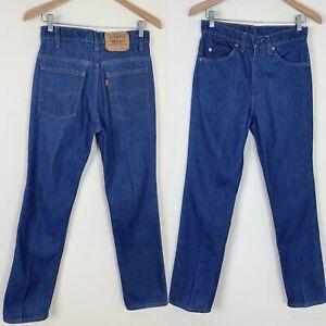 *SLIM FIT* VTG 70s 80s LEVIS 509 0917 Denim Jeans 28x32 ACTUAL Orange Tab USA