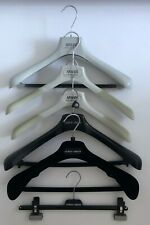 Lot of 6 Giorgio Armani Clothing Designer Suit Jacket Hangers