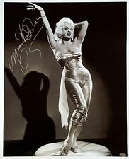 Mamie Van Doren Signed 16X20 Canvas Photo Playboy Playmate OC Dugout Hologram D