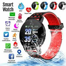 Умные часы для iPhone iOS Android телефон Bluetooth водонепроницаемый Фитнес трекер