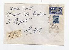 R867-BIENNALE DI VENEZIA-50£ + 5£ DEMOCRATICA RACC. DA ROVIGO