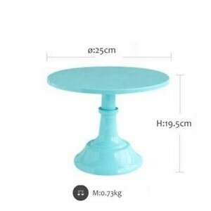 Grand Baker Cake Stand 10 Inch for Wedding Table Adjustable Height Party Fondant
