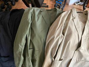Uniqlo Lightweight Cotton Blazer (Lot of 3)