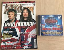REVISTA METAL HAMMER N 151+ CD NOISE INC. VOL 5 + POSTERS -Rep ( IRON MAIDEN)