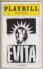 "Ricky Martin & Elena Roger  ""Evita""   Playbill  2012  Revival   Michael Cerveris"