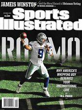 Sports Illustrated Magazine Tony Romo Jameis Winston Heisman Voting Thomas Bach