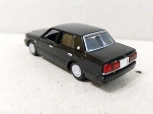 Tomytec 1/80 HO scale model car 80s-Toyota automobile Crown Black