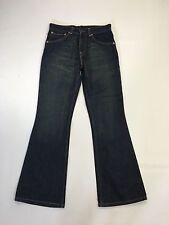 "Damen Levi 525 ""Bootcut"" Jeans-W28 L30-Dunkelblau Waschung-super Zustand"