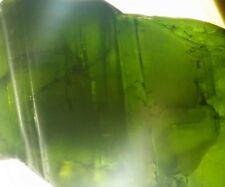 44.15 CT  Best Color VS Natural Green Tourmaline Crystal Facet Rough Specimen