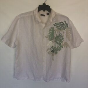 Centro Cotton Blend XXL Short Sleeve Casual Shirt