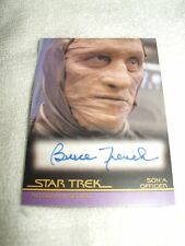 Star Trek Autograph Card Movies Insurrection Bruce French as Son'a  Officer A85