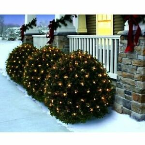 Holiday Time 150 Clear Net Lights Christmas Wedding Fairy String Tree Outdoor In