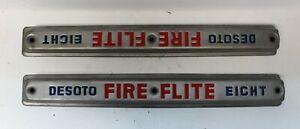 OEM Desoto Valve Cover Emblem Trim Fire Flite 1955-1960 Fireflite (678)
