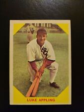 1960 Fleer Luke APPLING, #27, EX+