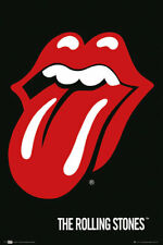 THE ROLLING STONES TONGUE LOGO POSTER NEW 24X36 FREE SHIPPING