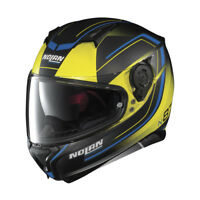 CASCO INTEGRALE NOLAN N87 SAVOIR FAIRE N-COM - 58 Fade Flat Led Yellow TAGLIA M