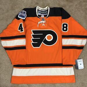 Reebok Daniel Briere Philadelphia Flyers Keystone 2012 Winter Classic Jersey L